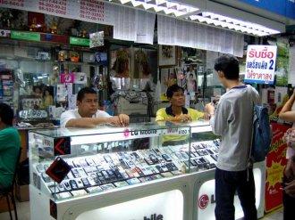 Цены на сотовые телефоны в Тайланде